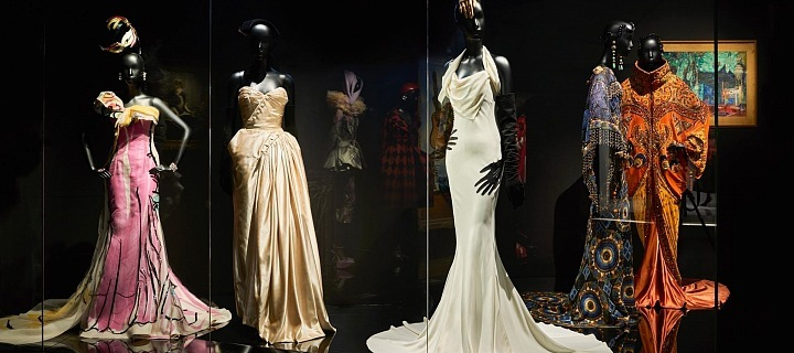 Luxusní šaty od Diora