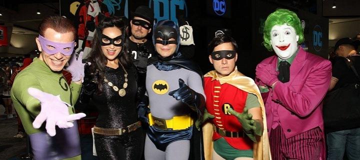 Návštěníci loňského ročníku comic-conu v San Diegu