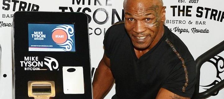 Mike Tyson ve spolupráci s Bitcoin ATM