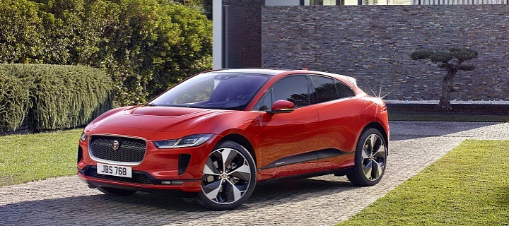Jaguar I-Pace, vítěz ankety Nejlepší evropské auto
