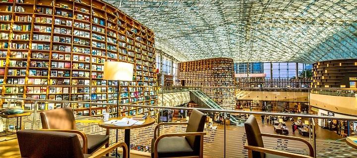 Starfield Library v COEX nákupních centru