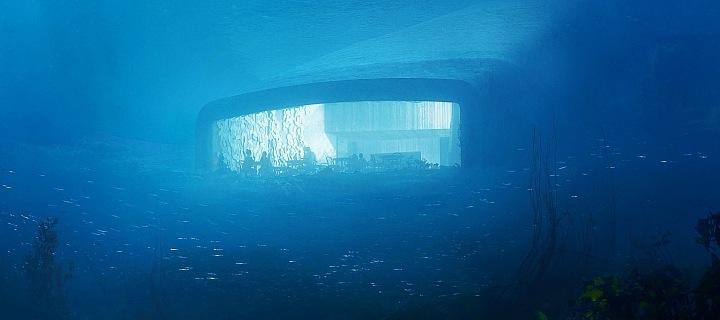 Under, 5 metrů pod mořem