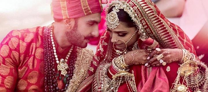 Deepika se svým manželem Ranveerem