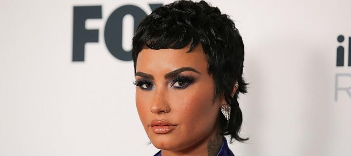 Americká zpěvačka Demi Lovato na iHeart Radio Music Awards