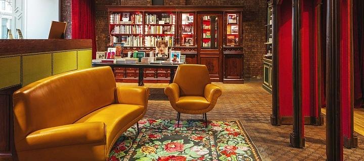 Gucci knihkupectví New York