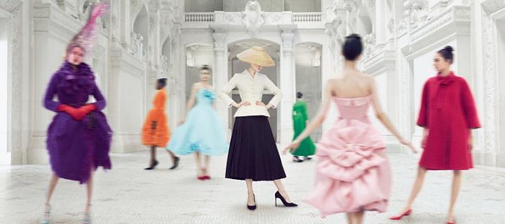 nesmrtelné modely z dílny Christian Dior