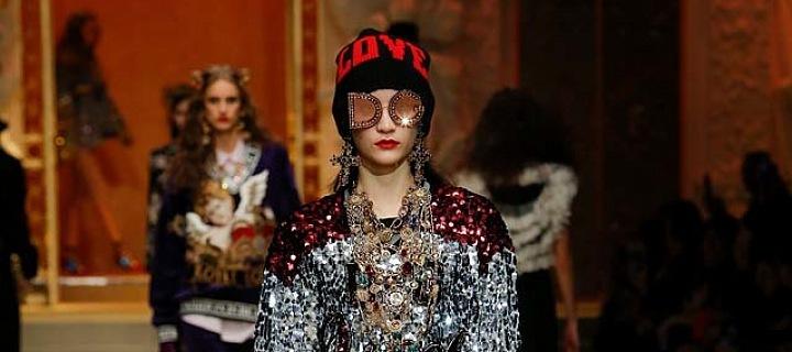V teple, ale stylově! Dolce & Gabbana
