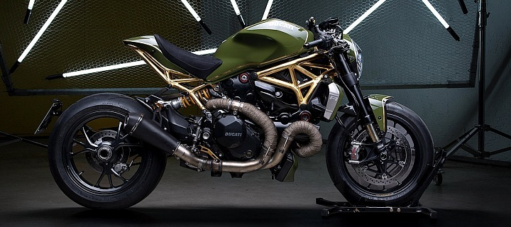 Ducati Monster 1200R 24 K Diamond Ateliér