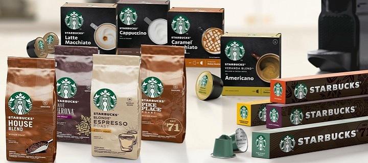 Nové produkty Starbucks
