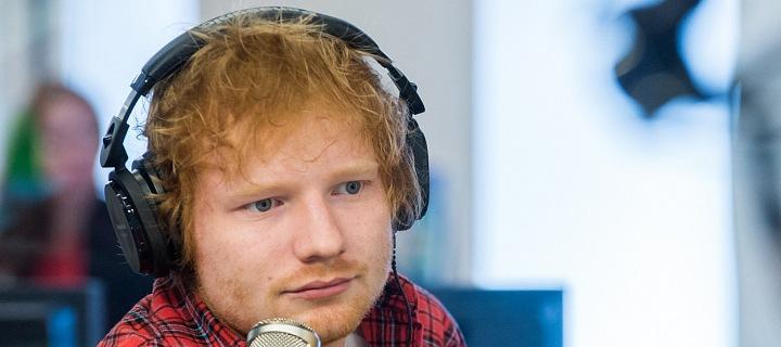 Britský zpěvák Ed Sheeran