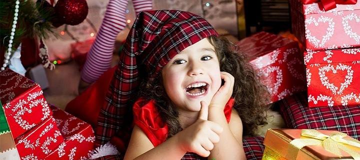 Vánoční luxus pro děti