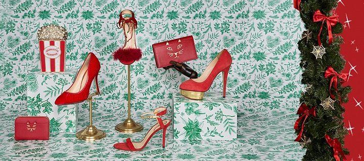 Red for Rudolph - Charlotte Olympia
