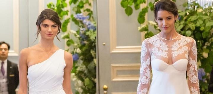New collection of wedding dress La Perla
