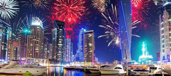 Nový rok v Dubai