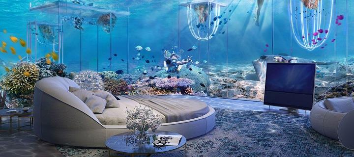 Podvnodní resort Dubai