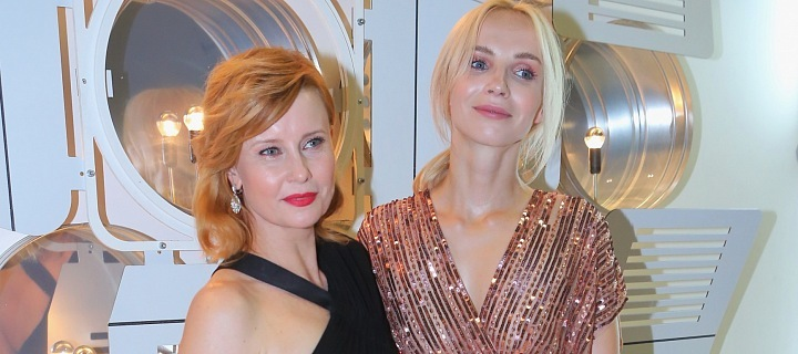Jitka Schneiderová with Jana Plodková