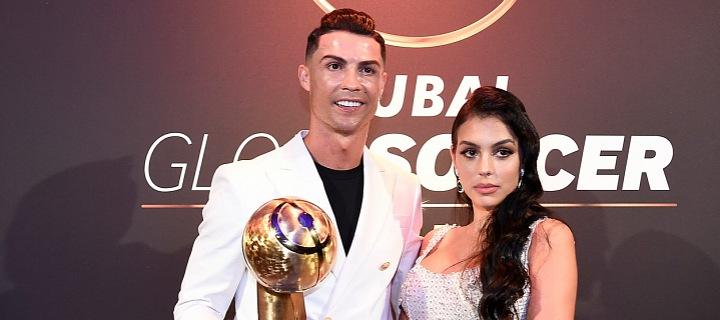 Georgina Rodríguez a Cristiano Ronaldo
