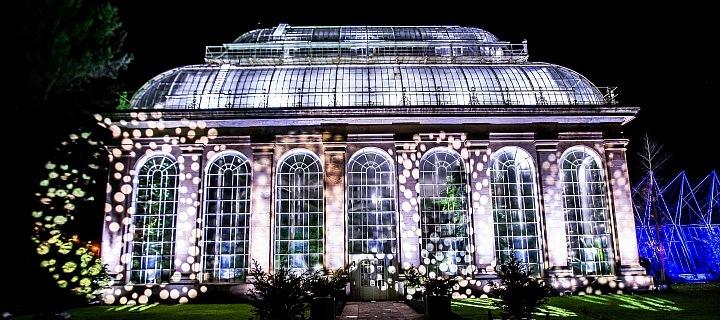 Vánoce v Royal Botanic Gardem
