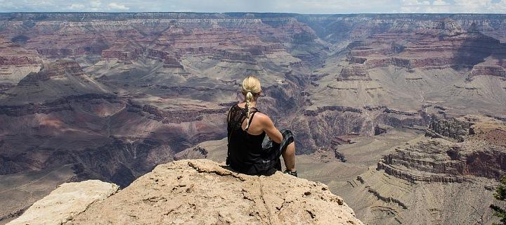 Grand Canyon láká k focení dokonalých selfie.