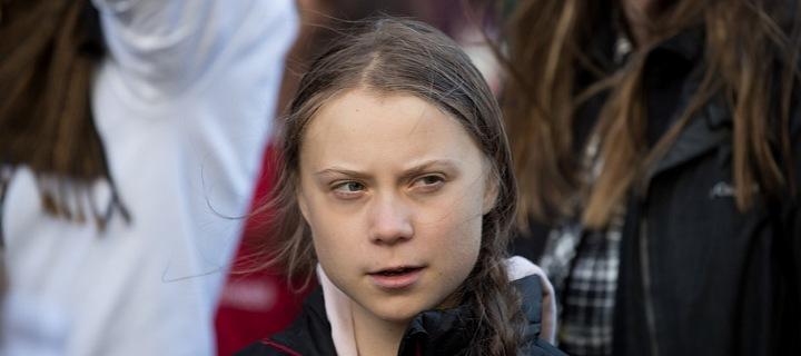 Švédská aktivistka Greta Thunberg
