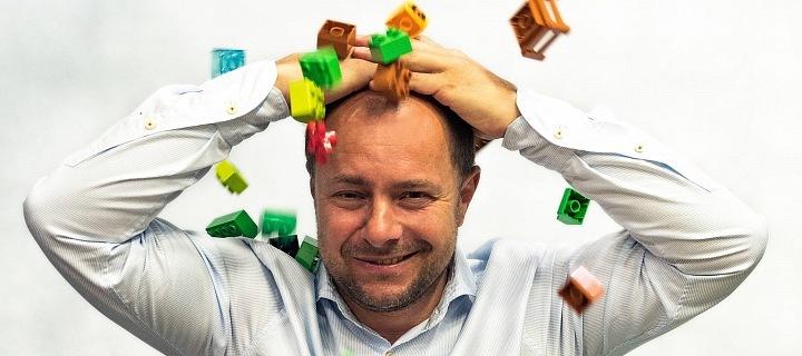 Miloš Křeček-majitel největší sbírky lega