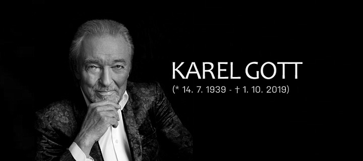 Karel Gott zemřel 1. října krátce před půlnocí.