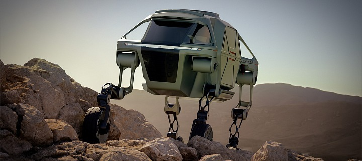 Hyundai koncept vozu Elevate
