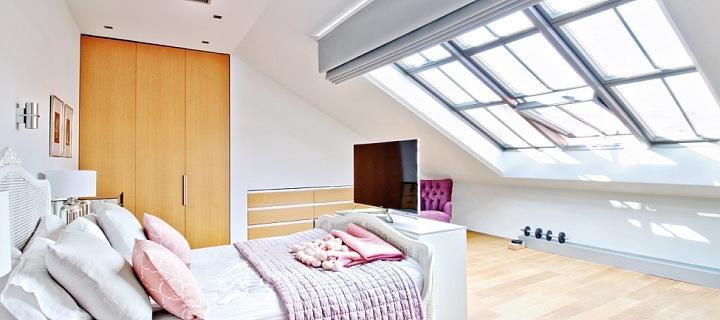 Mezonetový byt na pronájem - Praha 3 - Vinohrady-210 m²