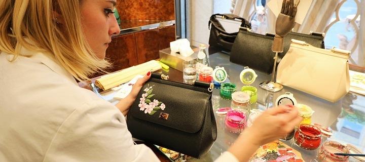 Dolce & Gabbana - ručně malované kabelky