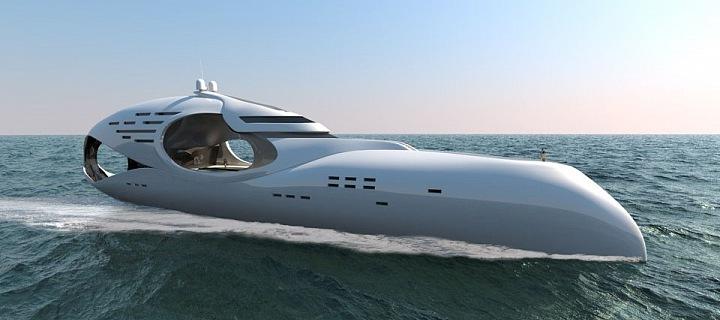 Super moderní jachta