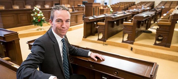 Ivan Bartoš ve Sněmovně.