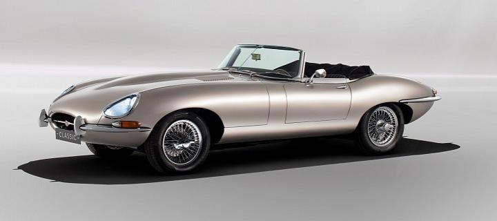 Luxusní auto Jaguar E Type Zero