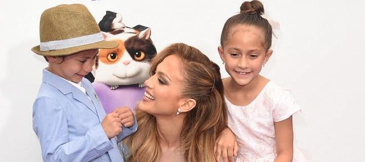 Jennifer Lopez s dětmi