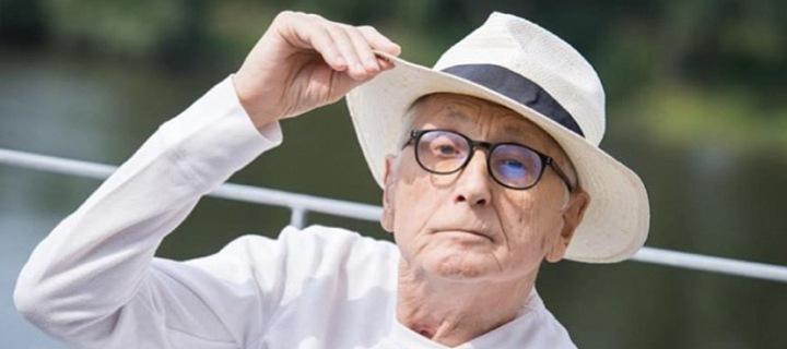 Jiří Menzel v klobouku