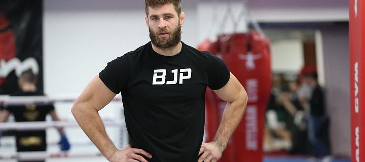 Osmadvacetiletý český zápasník Jiří Procházka