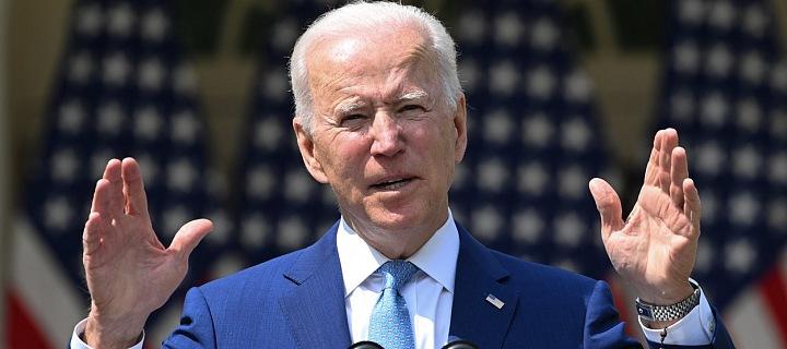 Americký prezident Joe Biden v dubnu 2021