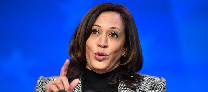 První viceprezidentka v historii USA, Kamala Harris