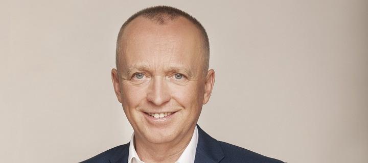Moderátor Karel Voříšek.