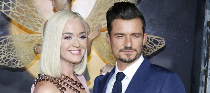 Katy Perry a Orlando Bloom.