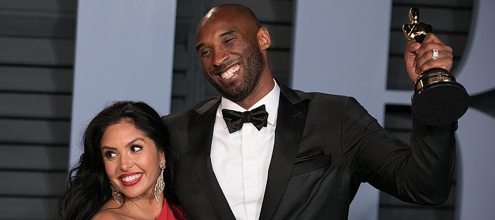 Kobe Bryant s manželkou Vanessou