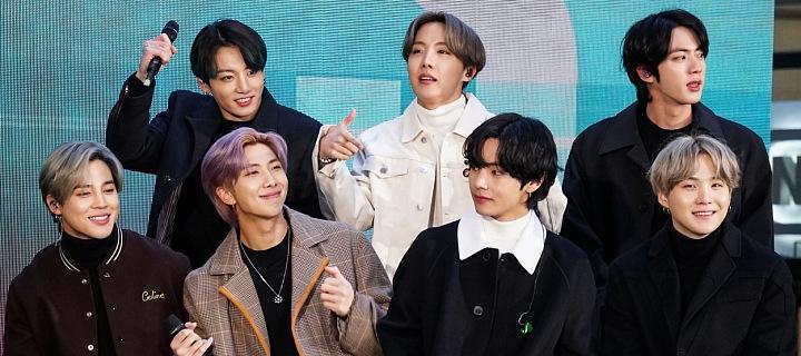 Korejská popová skupina BTS