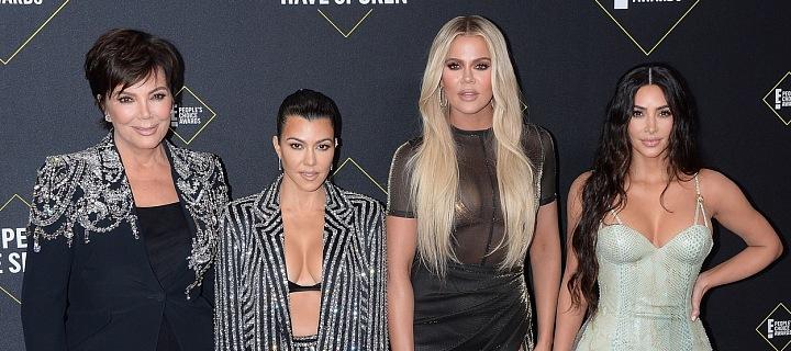 Kris Jenner a její tři nejstarší dcery