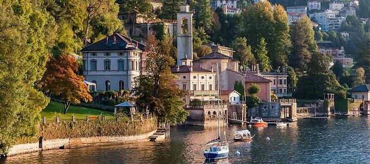 Jezero Como, Villa Batell