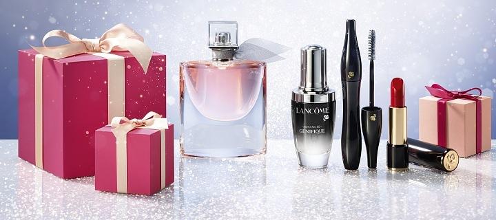 Vánoční nadílka z Lancôme Beauty Institute