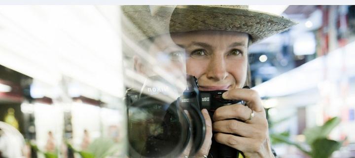 Fotografka Lenka Hatašová.