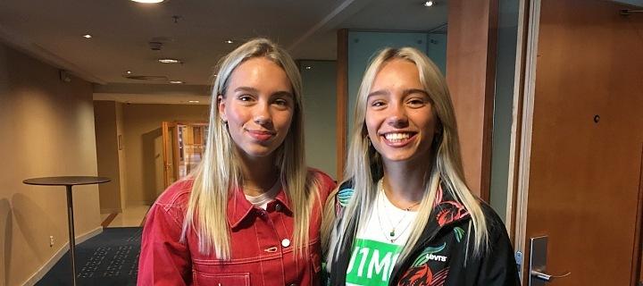 Girls in hotel Hilton