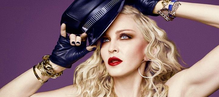 Slavná ikona, popová královna Madonna