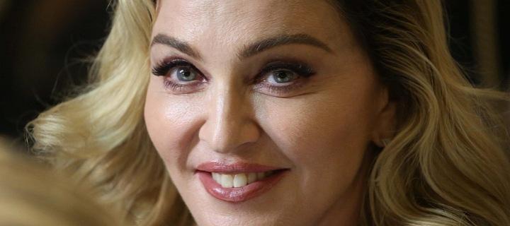 Zpěvačka Madonna v roce 2017