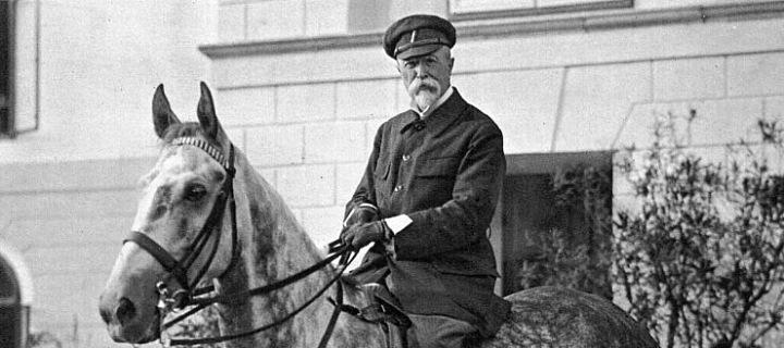 T. G. Masaryk na koni