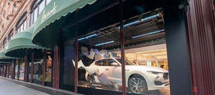 Maserati a Zegna v Harrods